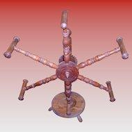 Primitive Spinning Wheel Yarn Winder