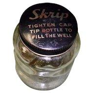 Vintage Skrip Sheaffer Ink Jar with Original Lid