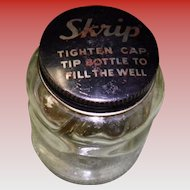 Vintage Skrip Ink Bottle