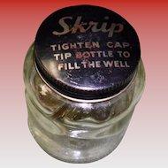 Vintage Skrip Ink Bottle