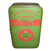 Boy Scouts First Aid Kit Tin