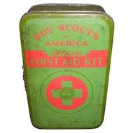 Boy Scouts First Aid Kit Tin