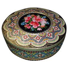 Vintage Ornate Textured Tin Made In Holland