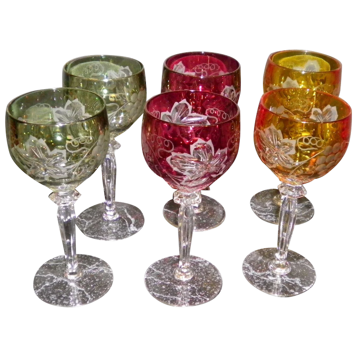 Cut To Clear Crystal Wine Gles