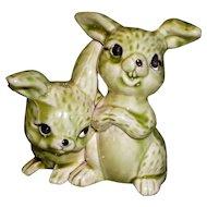 Porcelain Bunny Rabbit Figure