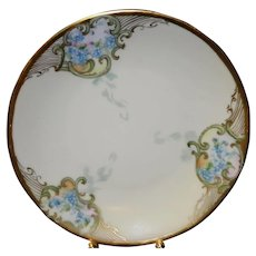 Floral UNO Favorite Bavaria Plate