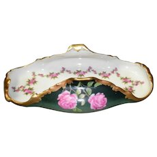 Limoges T&V Hand Painted Toast Tray