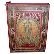 1890 Frithiof's Saga By Esaias Tenger Written In German