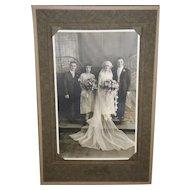 Antique Bridal / Wedding Photograph