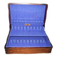 Vintage Harmony House 2 Tiered Flatware Chest