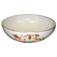 Vintage Hall's Superior Jewel Tea Autumn Leaf 2 Quart Salad Bowl