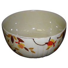 "Hall Autumn Leaf 7 1/4"" Mixing Bowl"