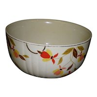 "Vintage Hall's Superior Autumn Leaf 6 1/4"" Mixing Bowl"