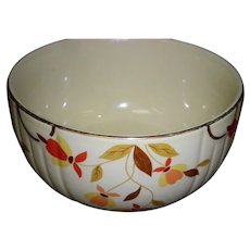 "Hall Autumn Leaf 6"" Mixing Bowl"