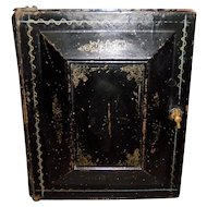 Black Victorian Metal Drawer Box