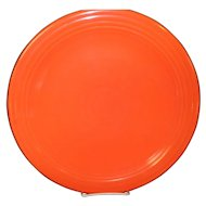 "Genuine Fiesta Red Orange 12"" Chop Plate"
