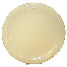 "Genuine Fiesta Ivory Orange 12"" Chop Plate"