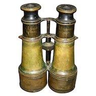 U. S. Signal Brass Day & Night Binoculars