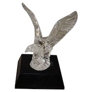 Waterford Crystal Eagle Sculpture With Base