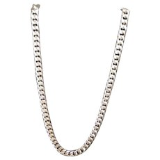 925 Sterling Silver Cuban Link Chain Necklace