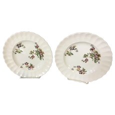 "Set of 2 Copeland Spode English Salad Plates ""Wicker Lane"""
