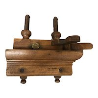 Antique Auburn Tool Co. Screw Arm Plow / Plough Plane #90