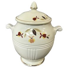 Autumn Leaf Biscuit Jar N.A.L.C.C. by Hall China