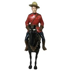 Hartland Sgt. Lance O'Rourke Royal Canadian Mountie with Horse 1950's
