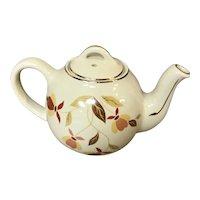 National Autumn Leaf Collector's Club Single Serve Teapot