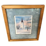 Charles Peterson Potluck At Juddvile Framed Print