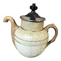 Antique Doulton Burslem for J.J. Royle Self Pouring Teapot