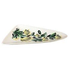 Mid Century Atomic Ceramic Dish / Tray / Platter