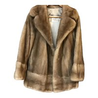 Vintage Mink Fur Coat by Rices Nachmans Fur Salon