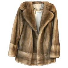 Vintage Mink Fur Coat by Rices Nachmans Fur Salon