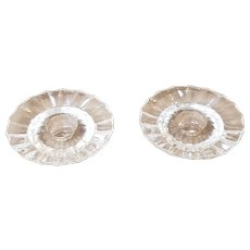 Villeroy and Boch Poloma Picasso, Crystal Candle Holders