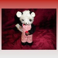 Vintage Tin / Plush Wind Up Bear