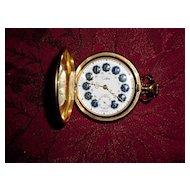 Vintage Colibri Swiss 17 Jewels Pocket Watch