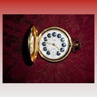 Colibri Swiss 17 Jewels Pocket Watch
