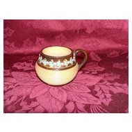 Miniature Doulton Lambeth Mustard Pot
