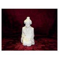 Vintage Alabaster Sculpture Figurine Signed A. Giannelli