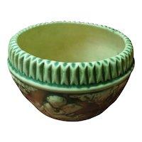 Roseville Donatello Jardiniere / Bowl Art Pottery / Planter