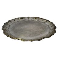 Vintage Sheffield Silver Plate Serving Tray / Platter