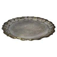 Vintage Sheffield Silver Plate Serving Tray / Platter