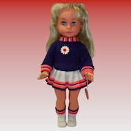 Vintage Gotz Puppe Doll With Original Tag