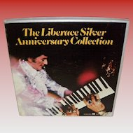 The Liberace Silver Anniversary Collection 5 LP / Record Set 1976