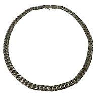 """23"""" Cuban 925 Silver Link Chain"""