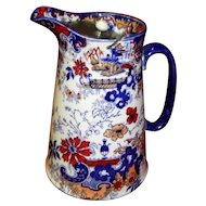 Vintage Corey Hill Flow Blue Syrup Pitcher