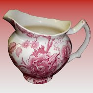 Johnson Brothers English Chippendale Pink / Red 24 oz. Pitcher