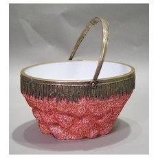 Overshot Glass Basket