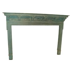 19th c. English Fireplace Mantel